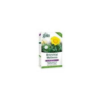 Gaia Herbs - Bronchial Wellness Herbal Tea 20 bags