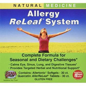 Herbs Etc - Allergy ReLeaf System 2 - 30 ct bottles (Allertonic & Quercetin AllerReLeaf)