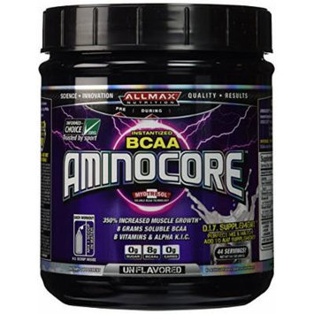 Allmax Nutrition Aminocore Unflavored 400 Grams