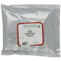 Frontier Mustard Seed, Brown Mustard Whole Certified Organic, 16 Ounce Bags (Pack of 3)
