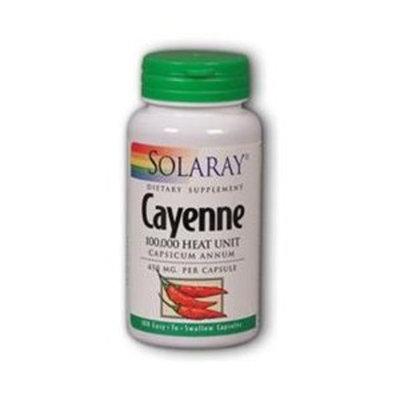 Cayenne 450mg Solaray 100 Caps