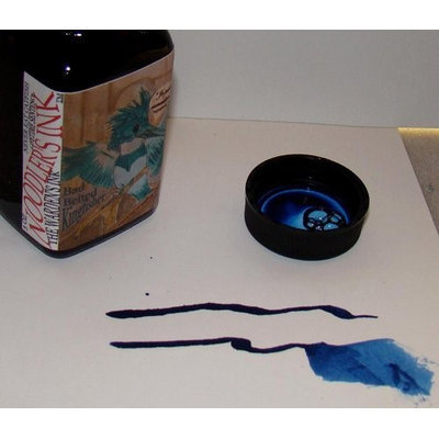 Noodler's Ink Fountain Pen Bottled Ink, 3oz - Bulletproof Bad Belted Kingfisher