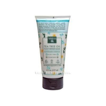 Earth Therapeutics Tea Tree Oil Foot Balm ~6 Oz - Pack Of 1