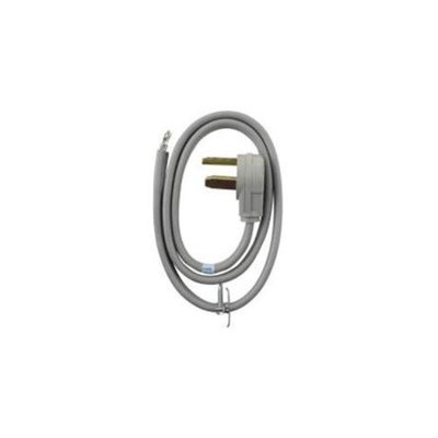 Whirlpool 105344 Dryer Cord 3-Wire 4Ft 30 Amp