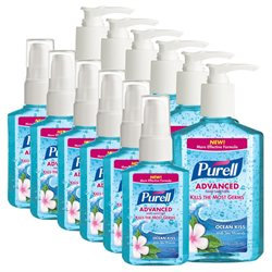 Purell Ocean Kiss 2 oz. 6pk + 8 oz. 6pk
