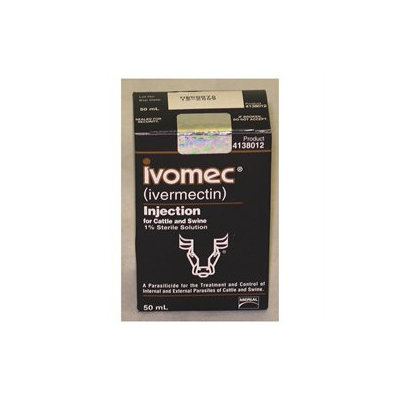 Merial Limited Ivomec Cattle Swine Injectab 50 Milliliter - 67298/41380