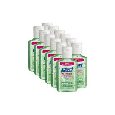 Purell Aloe Hand Sanitizer - 12 Bottles (2 oz ea)