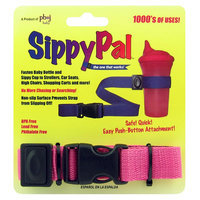 sentron Sippy Pal Cup Attacher Pink - sentron