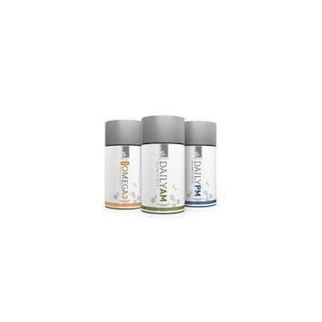 Zrii Smart Omega 3 & Daily Am & Pm Smart Health Nutritionals Combo