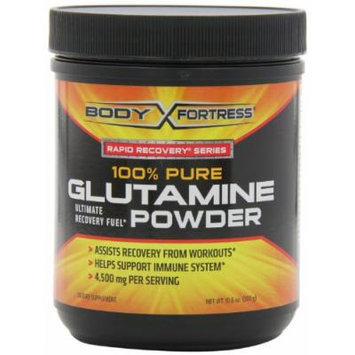 Body Fortress 100% Pure Glutamine Powder (300 Grams (Pack of 2))