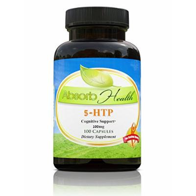 5-HTP , 100mg , 100 Capsules , Mood and Appetite Support Supplement , Relieve Anxiety