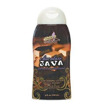 Zero to Sexy Chocolate Java Dark Tanning Lotion 8 oz.