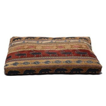 CPC Northwoods Tapestry Ex Large, Pet Bed, Red