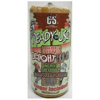 C & S Products C And S Products 428429 RTU Hot Pepper Delight Suet Log