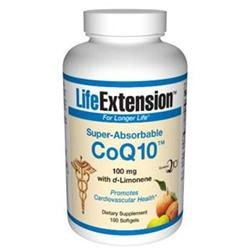 Life Extension Super-Absorbable CoQ10 with d-Limonene