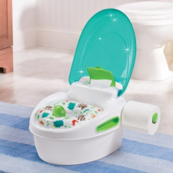 Summer Infant Step By Step Potty - Green