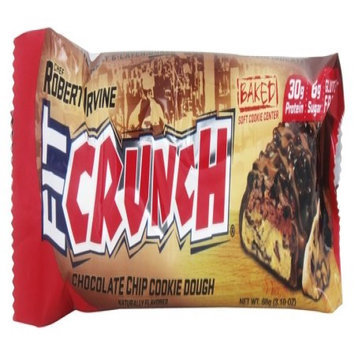 Chef Robert Irvine FortiFX - Fit Crunch Protein Bar Chocolate Chip Cookie Dough - 88 Grams