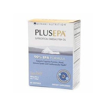 Minami Nutrition PlusEPA Omega-3 Fish Oil, Softgel, Orange 60 ea