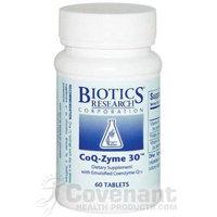 Biotics Research, CoQ-Zyme 30 (60T)