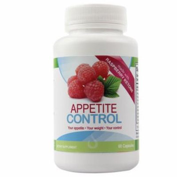 Appetite Control And Suppressant Weight Loss Supplement , Metabolism Boosting Raspberry Ketones , Hoodia Gordonii & Elderberry , 60 All Natural Capsules