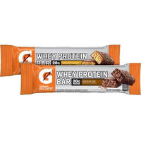 Gatorade Whey Protein Recover Bars Chocolate Chip 2.8oz (4 Pack)
