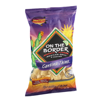 On The Border Cantina Thins Tortilla Chips