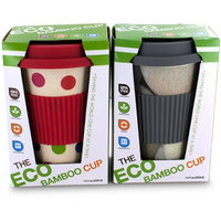 SMART PLANET BAMBOO ECO CUP STONE & POLKA DOT