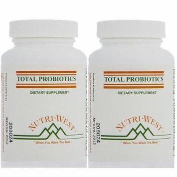 Nutri-West - TOTAL PROBIOTICS - 120 (2 Pack)
