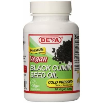 Deva Nutrition Black Cumin Seed Oil Veg Capsules, 90 Count