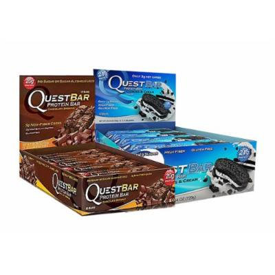 Quest Nutrition Bar Variety Pack: Chocolate Brownie and Cookies and Cream