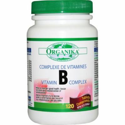 Organika B Complex, 120 capsules