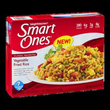 Weight Watchers Smart Ones Vegetable Fried Rice