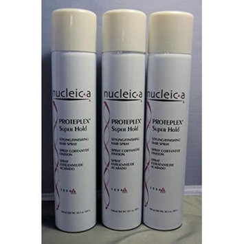 Nucleic a Super Hold Hairspray 55%, Proteplex, 10.1 Fluid Ounce 3 Each