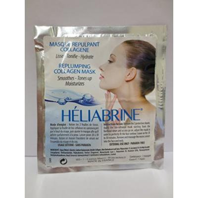 HELIABRINE REPLUMPING COLLAGEN NATURAL FACIAL MASK 8ML.