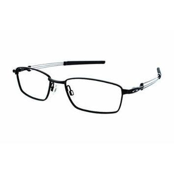 Oakley Catapult OX5092-0152 Eyeglasses Satin Black Clear Demo 52 18