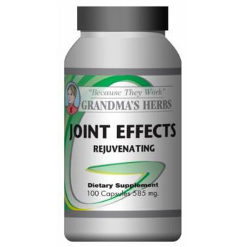Joint Effects Natural Supplement for Aches and Pains Joint Relief - 100 Ct