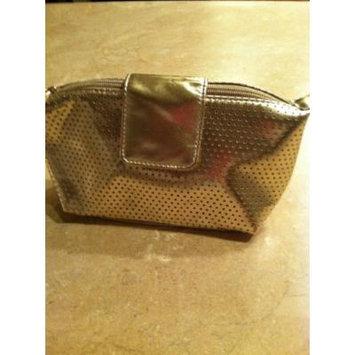 Clarins Gold Makeup Bag