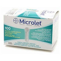 Bayer, Bayer Microlet Sterile Lancets, 100 each