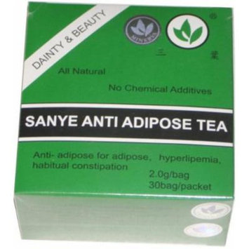 SANYE ANTI-ADIPOSE TEA & Detoxifying Laxative & Cleansing action - 30 tea bags