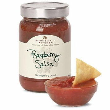 Stonewall Kitchen Salsa, Raspberry, 16 Ounce