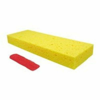 Quickie Manufacturing 272 Pro Sponge Mop Refill Butterfly Cellulose with Scrubber