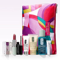 Clinique Spring Skin Care & Makeup Gift Set with Tracy Reese Cosmetic Bag