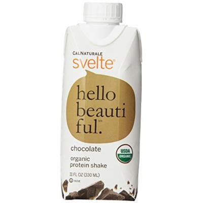CalNaturale Svelte Organic Protein Shake, Chocolate, 11 Ounce (Pack of 8)