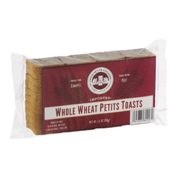 Trois Petits Cochons Imported Petits Toasts Whole Wheat