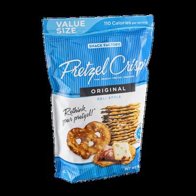 Snack Factory Pretzel Crisps Original