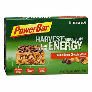 PowerBar Harvest Whole Grain Energy Bars 5 Pack