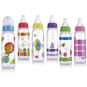 DDI 2-Pack 8 oz. Printed Non-Drip Bottle Case Pack 24
