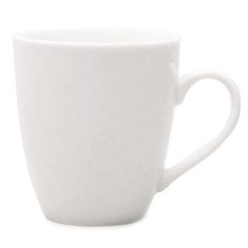 Tag Trade Assoc Group Tag 10 Oz. White Whiteware Coffee Mug (101185) - 6 Pack