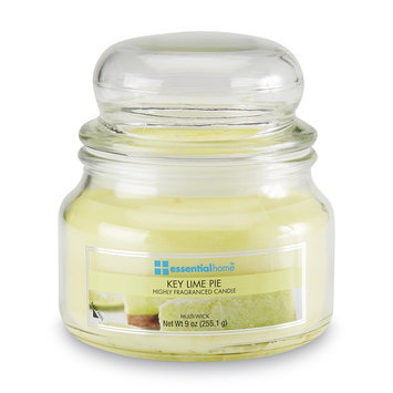 Essential Home 9 Ounce Jar Candle Key Lime Pie - LANGLEY PRODUCTS L.L.C.