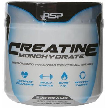 RSP Nutrition Creatine Monohydrate, 16.2 Ounce